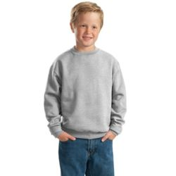 Jerzees 562B Youth NuBlend ® Crewneck Sweatshirt Thumbnail