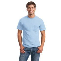 Gildan 2300 Ultra Cotton ® 100% Cotton T Shirt with Pocket Thumbnail