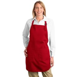 Port Authority A500 Full Length Apron with Pockets Thumbnail