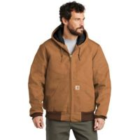 Carhartt CTSJ140 ® Quilted Flannel Lined Duck Active Jac Thumbnail