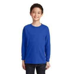 Gildan 5400B Youth Heavy Cotton ™ 100% Cotton Long Sleeve T Shirt Thumbnail