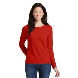 Gildan 5400L Ladies Heavy Cotton ™ 100% Cotton Long Sleeve T Shirt Thumbnail