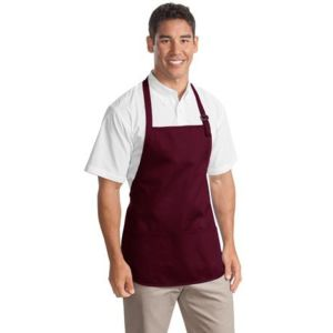 Port Authority A510 Medium Length Apron with Pouch Pockets Thumbnail