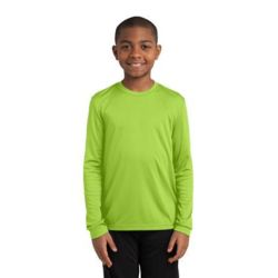 Youth Long Sleeve PosiCharge ® Competitor™ Tee Thumbnail