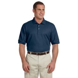 Men's Tall Pima Piqué Short-Sleeve Polo Thumbnail