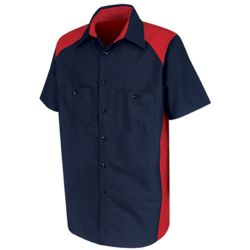 Red Kap SP28 Short Sleeve Motorsports Shirt Thumbnail