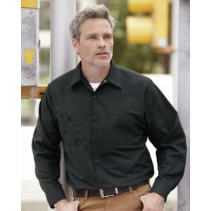 Red Kap SP14 Industrial Long Sleeve Work Shirt Thumbnail