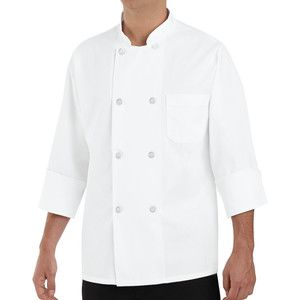 Chef Designs 0403 Eight Pearl Button Chef Coat Thumbnail