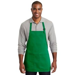 Port Authority A601 Medium Length Two Pocket Bib Apron Thumbnail