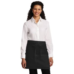Port Authority A706 Easy Care Half Bistro Apron with Stain Release Thumbnail