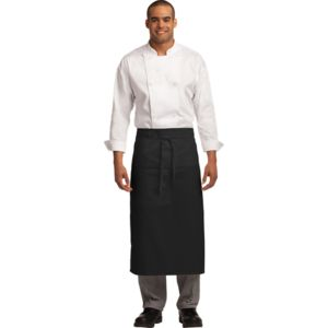 Port Authority A701 Easy Care Full Bistro Apron with Stain Release Thumbnail
