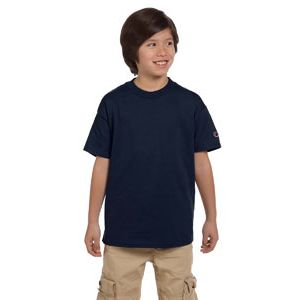 Champion T435 Youth 6.1 oz. Short-Sleeve T-Shirt Thumbnail